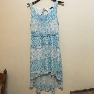 Lily Rose Women's Blouson High Low Dress
